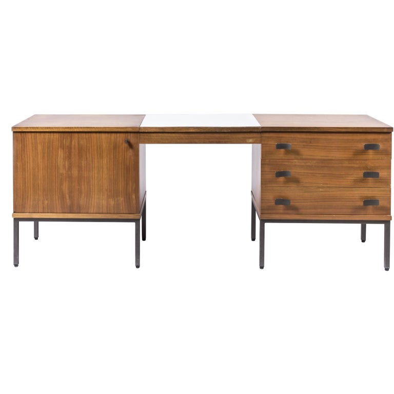 Antoine Philippon and Jacqueline Lecocq Desk, in Rosewood 1965 For Sale