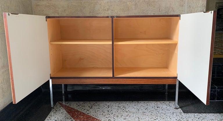 Antoine Philippon & Jacqueline Lecoq Petite 2 Door Cabinet Credenza Sideboard In Good Condition For Sale In Miami Beach, FL