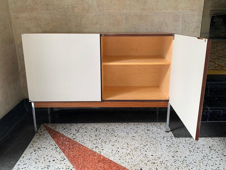 Steel Antoine Philippon & Jacqueline Lecoq Petite 2 Door Cabinet Credenza Sideboard For Sale