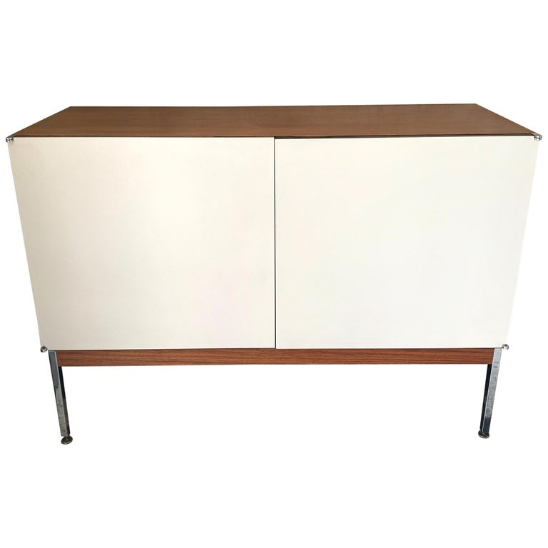 Antoine Philippon & Jacqueline Lecoq Petite 2 Door Cabinet Credenza Sideboard For Sale