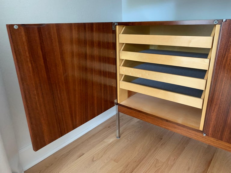 Antoine Philippon & Jacqueline Lecoq Rosewood Credenza Sideboard for Behr, 1960s For Sale 2
