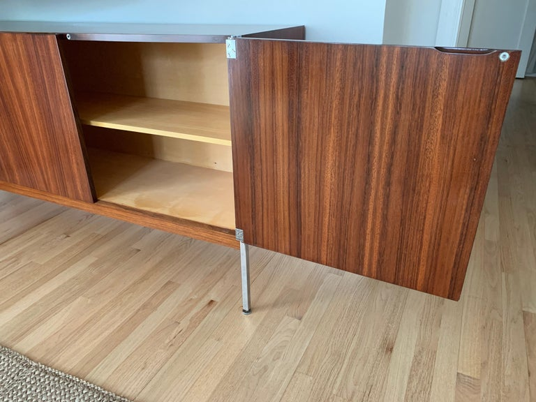 Antoine Philippon & Jacqueline Lecoq Rosewood Credenza Sideboard for Behr, 1960s For Sale 4