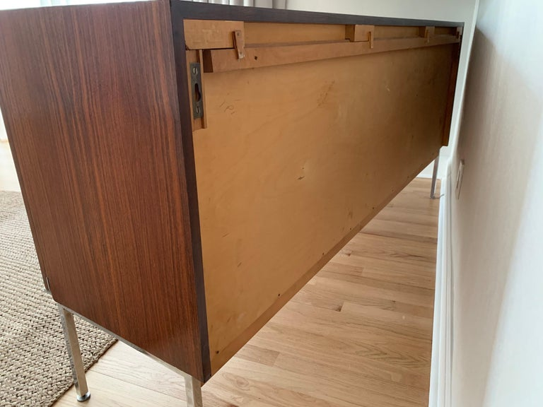 Antoine Philippon & Jacqueline Lecoq Rosewood Credenza Sideboard for Behr, 1960s For Sale 6