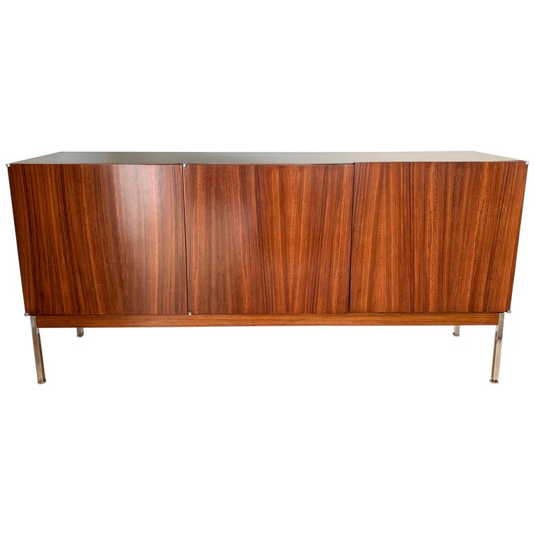 Antoine Philippon & Jacqueline Lecoq Rosewood Credenza Sideboard for Behr, 1960s For Sale