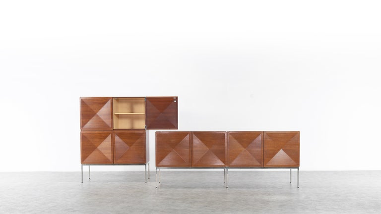Antoine Philippon & Jacqueline Lecoq Sideboard by Behr, 1962 Pointe De Diamant In Good Condition For Sale In Munster, NRW
