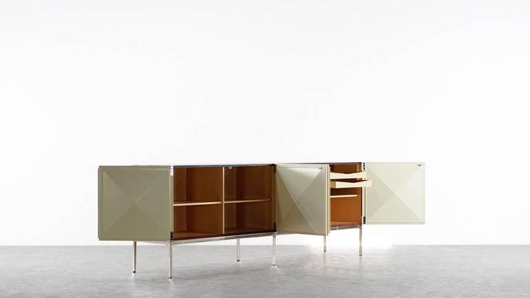 Mid-20th Century Antoine Philippon & Jacqueline Lecoq Sideboard by Behr, 1962 Pointe De Diamant For Sale