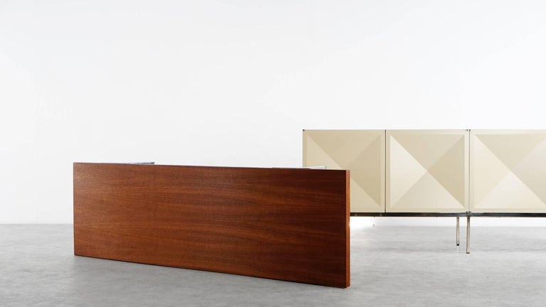 Antoine Philippon, Jacqueline Lecoq, Sofa Coffee Table, circa 1962 by Laauser For Sale 5