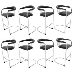 Anton Lorenz for Thonet Bar Stools