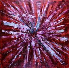 Fleur Du Mal, Painting, Oil on MDF Panel