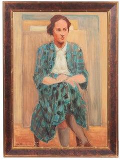 'Woman in Blue', Danish Royal Academy, Brooklyn Museum, Kolding