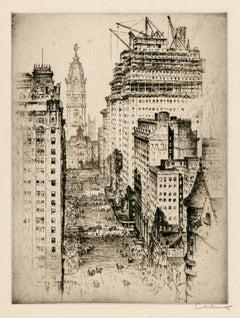 Philadelphia, Broad Street — Early 20th century