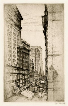 St. Louis, The Canyon of Olive Street — Early 20th century