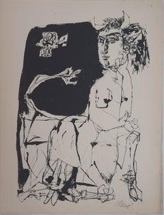 The Dream (Centaur) - Original Screen Print Handsigned