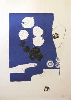 Trobadors Antoni Clave lithograph 1970
