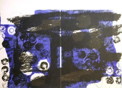 Trobadors II Antoni Clave original lithograph