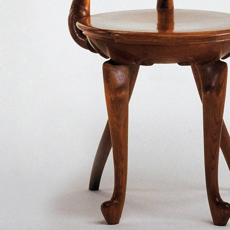 Jugendstil Antoni Gaudi Calvet Armchair For Sale