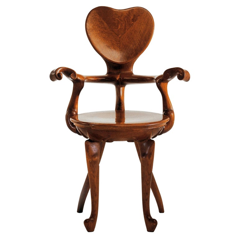 Antoni Gaudi Calvet Armchair For Sale