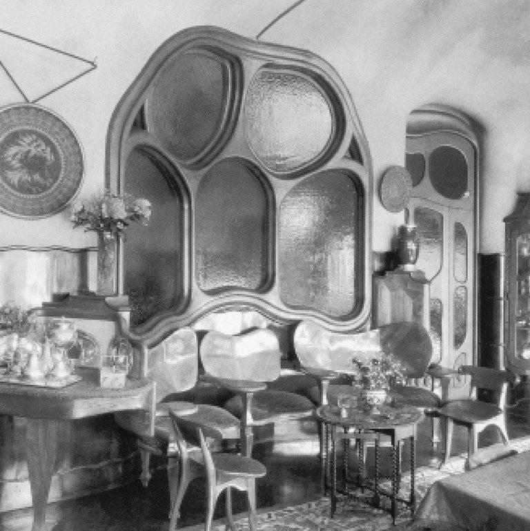 Antoni Gaudi, Jugdenstill, Solid Oak Batllo Spanish Chair 1