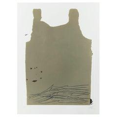 Antoni Tàpies Etching, Aparicions-6, 1982