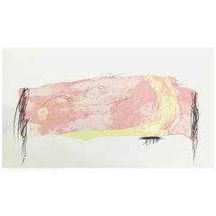 Antoni Tàpies Handcolored Lithograph, Nocturn Matinal 8, 1970