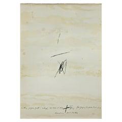 Antoni Tàpies Lithography, Cartrons, Papers, Fustes, Collages del 1946 al 1964