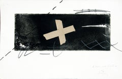 No title - Antoni Tàpies Mixed Media on Paper Contemporary Painting