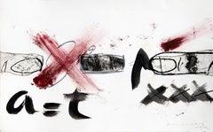 No title, Antoni Tàpies, '80, original on paper