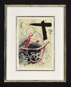 Abstract Composition by ANTONI TÀPIES - Modern art, abstract painting