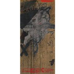""""""" ELS MESTRES DE CATALUNYA"""" original lithography painting"""