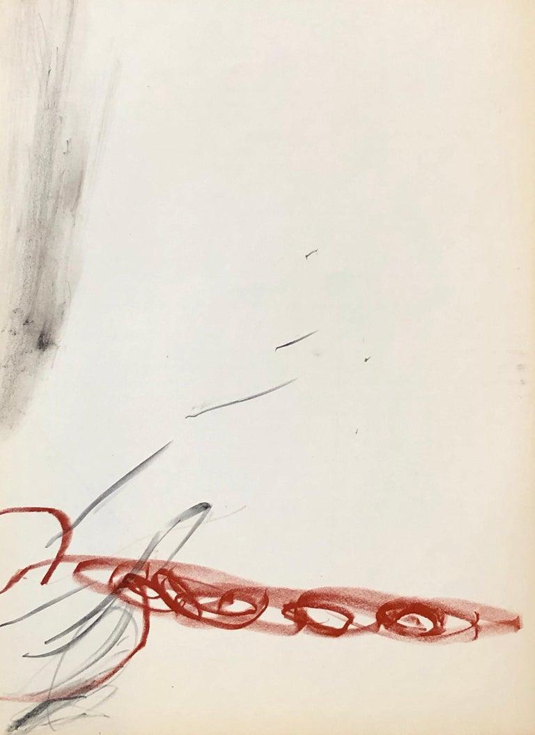 Antoni Tàpies lithograph Derriere Le Miroir (Antoni Tàpies prints)  - Print by Antoni Tàpies