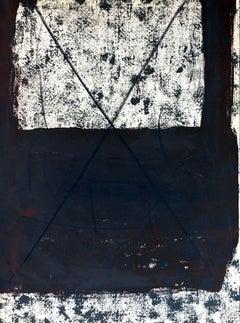 Antoni Tàpies lithograph Derriere Le Miroir (Antoni Tàpies prints)