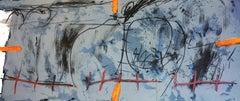 Antoni Tàpies Lithograph, Derriere Le Miroir (Antoni Tàpies prints)