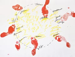 Antoni Tapies, Suite Catalana, plate 1, 1971