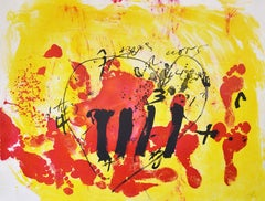 Antoni Tapies, Suite Catalana, plate 2, 1972