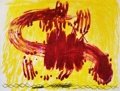 Antoni Tapies, Suite Catalana, plate 3, 1971
