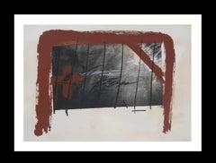 Cama Roja original engraving painting