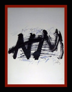 NOCTURN MATINAL original lithography painting
