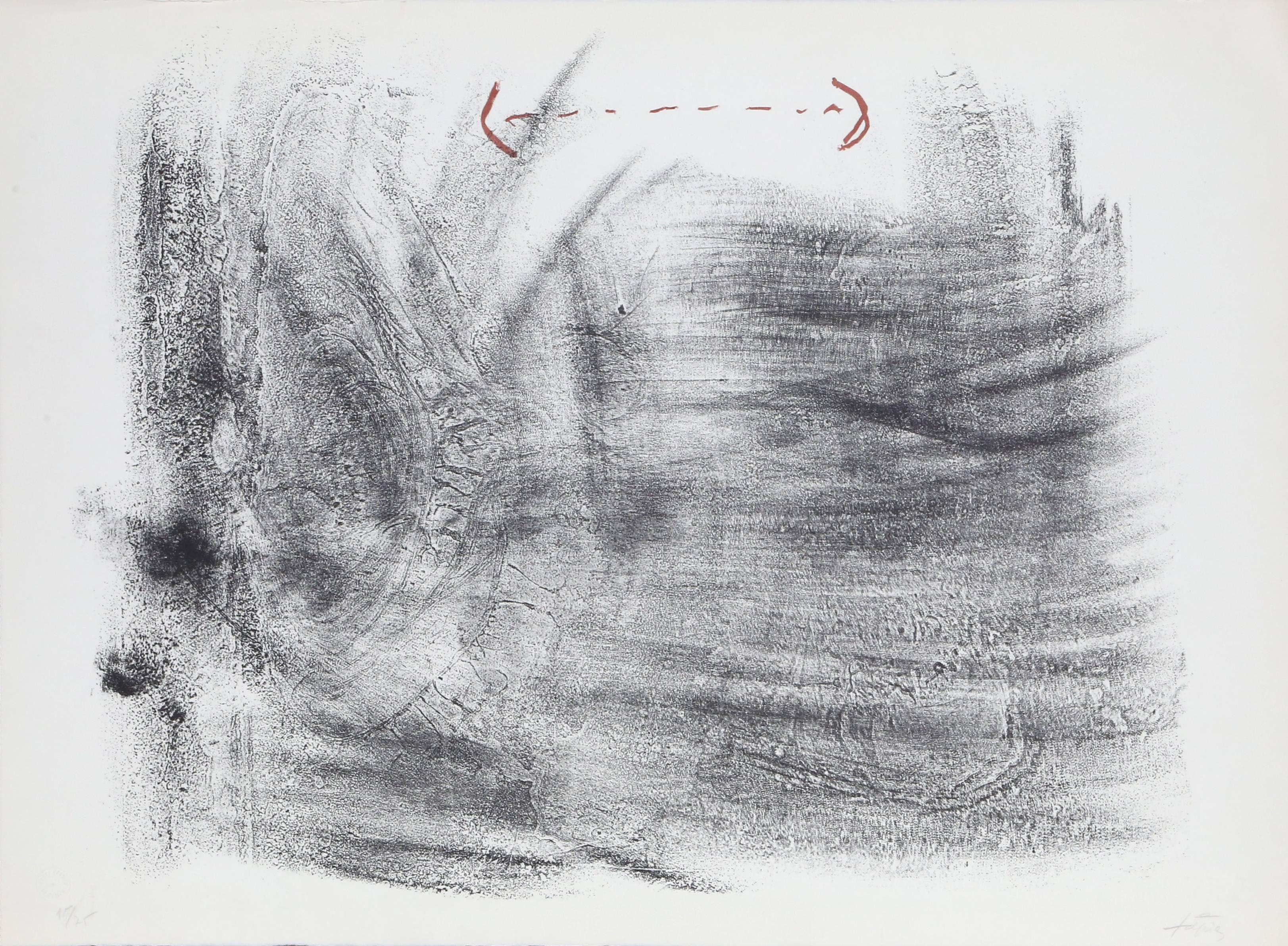 untitled from St. Gallen, by Antoni Tapies