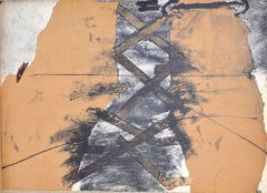 Untitled - Original Lithograph by Antoni Tapies - 1974