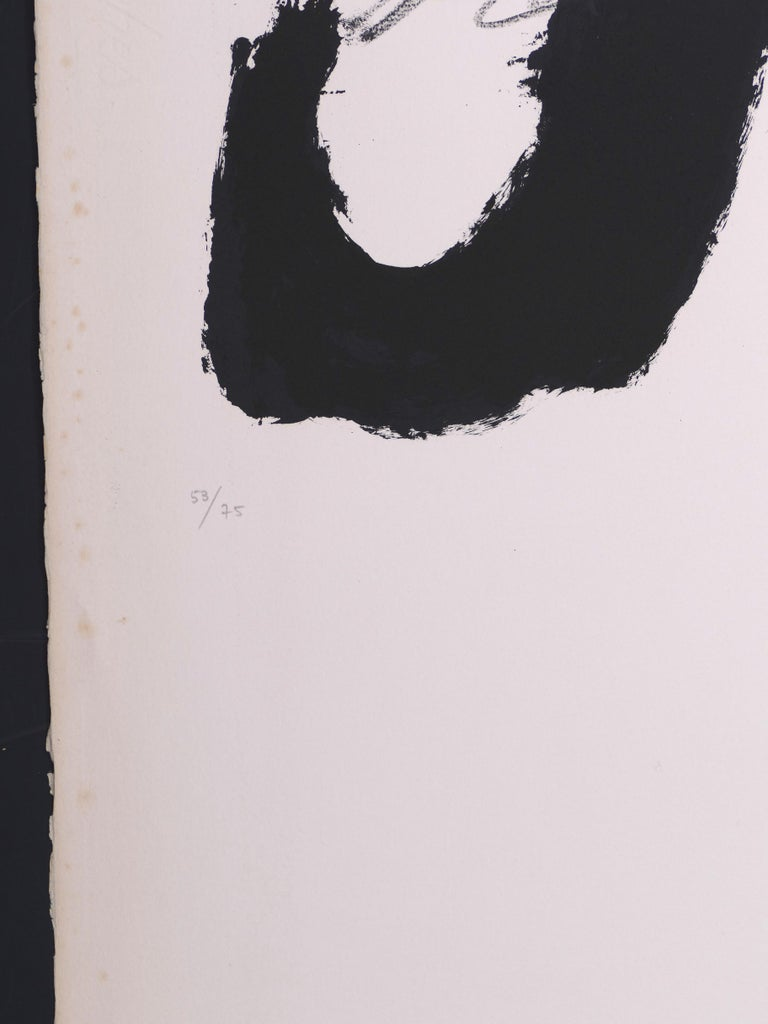 Untitled - Original Lithograph by Antoni Tapies - 1979 For Sale 1