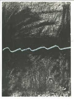 Untitled - Original Print by Antoni Tàpies - 1968