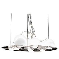 Antonia Astori & Nicola De Ponti Suspension Lamp 'Plateau' by Oluce