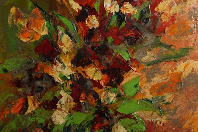 July Flowers - Painting by Antonia Mastrocristino Sirena