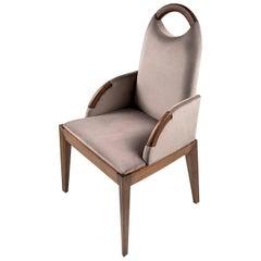 Antonietta Gray chair by Simone Ciarmoli and Miguel Queda