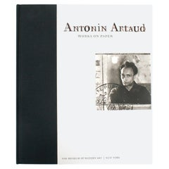 Antonin Artaud, Works on Paper, First Edition Exhibition Catalogue