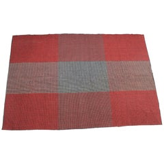 Antonín Kybal Modernist Geometric Carpet, 1950s