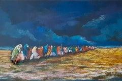 Mixed Media Painting -- Odicea (Odisea)