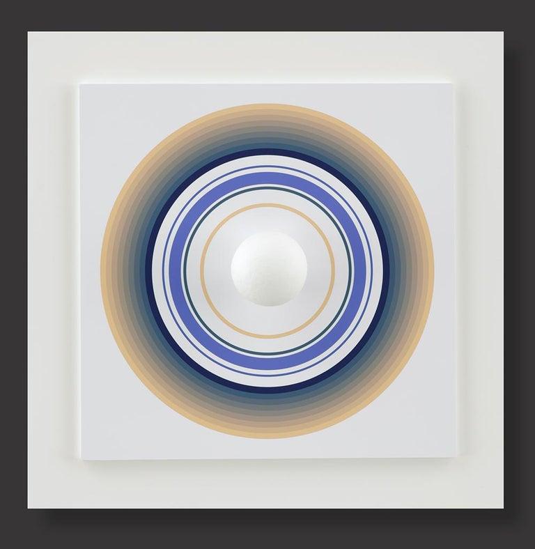 Asistype 4 - boule sur cercle - Mixed Media Art by Antonio Asis