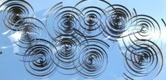 10 spirales mobiles sur acier