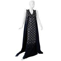 "Antonio Berardi Grand ""Finale"" Runway Jeweled Dress Gown"